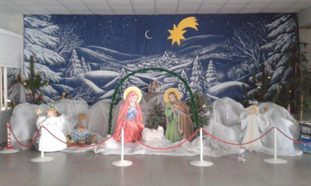 Скадовськ. Різдвяна шопка у Будинку культури